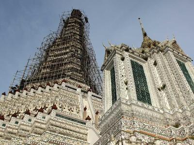 Bukan Hanya Pagi, Kuil Bangkok Ini Juga Cantik Dilihat Saat Sore