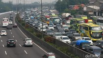 Long Weekend, Ini Titik-titik Macet di Tol Cikampek