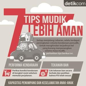 7 Tips Mudik Lebih Aman