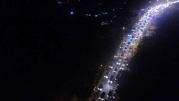 Nagreg-Tasik Padat Malam Ini, Polisi Terapkan One Way