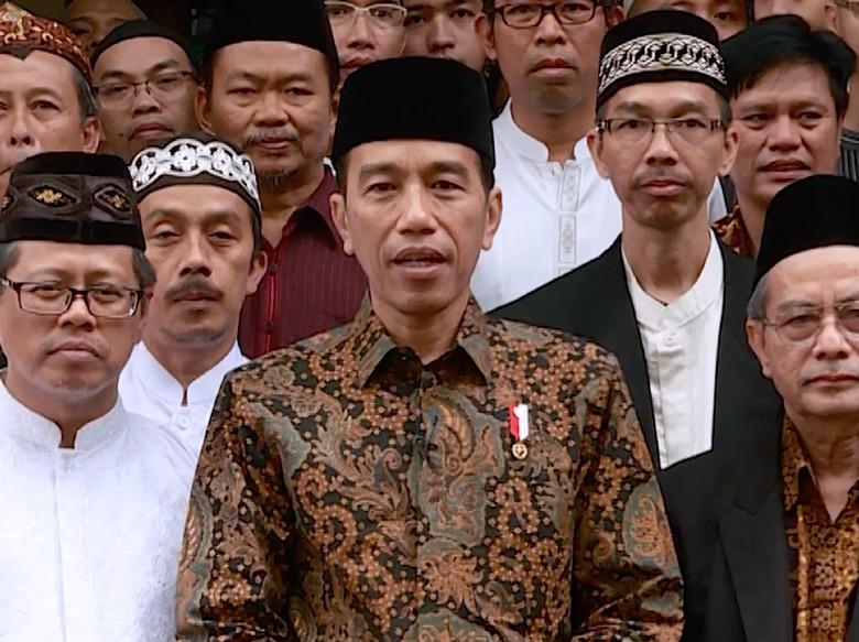 Jokowi: Islam Radikal Bukan Bangsa Indonesia