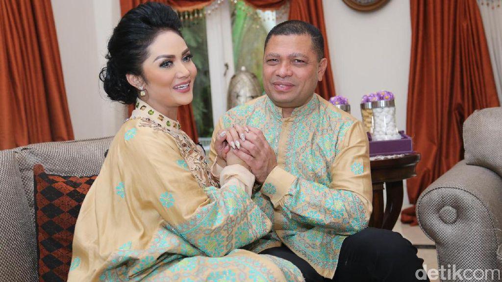 Sedih! Krisdayanti Tak Rayakan Lebaran Idul Adha Bareng Suami
