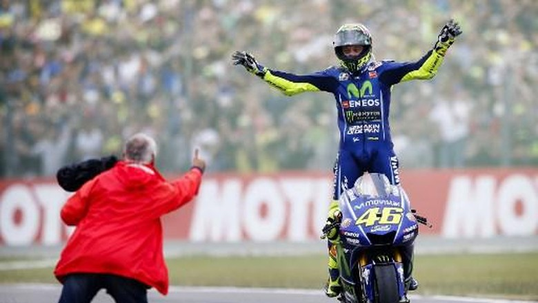 Selama Masih Kompetitif, Rossi Mau Terus Balapan di MotoGP