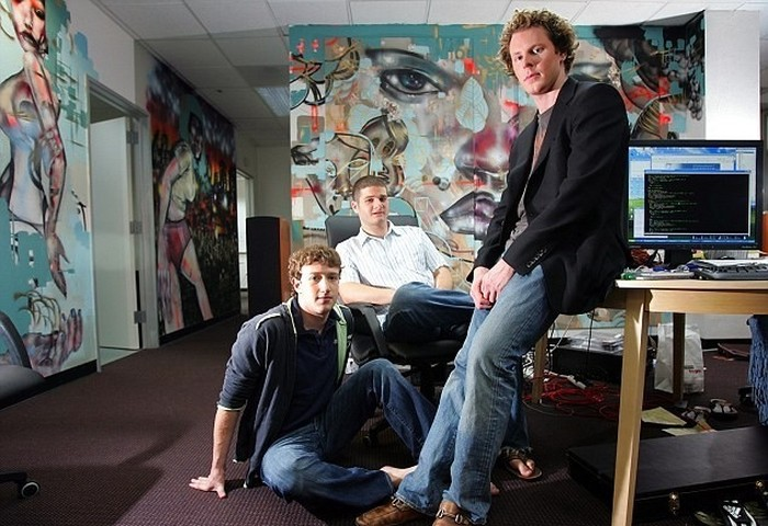 Nasib Para Pendiri Facebook, Apakah Sebaik Mark Zuckerberg? detikInet Facebook di masa awal. Foto: istimewa
