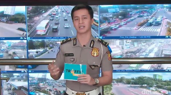 Traffic Update: Halim-Cawang Macet, Semanggi-Senayan Lancar