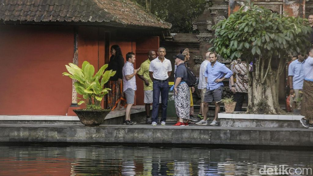 Obama Buktikan, Bali Tak Cuma Indah di Selatan