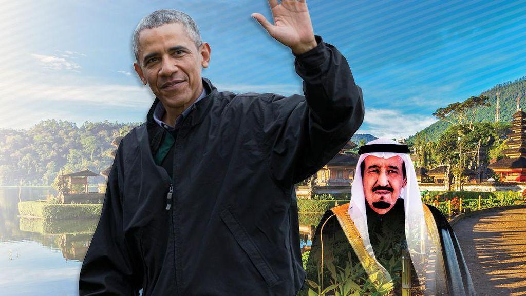 Ada Paket Wisata Raja Salman dan Obama Selama IMF-WB Meeting 2018