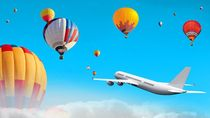 Kemenhub Diminta Awasi Balon Udara yang Ganggu Penerbangan