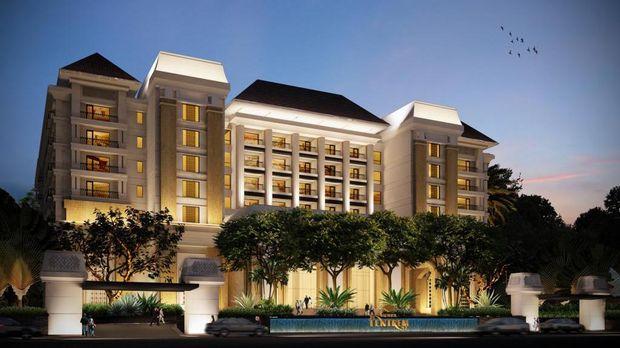 Tampak depan Hotel Tentrem Yogyakarta (Hotel Tentrem Yogyakarta)