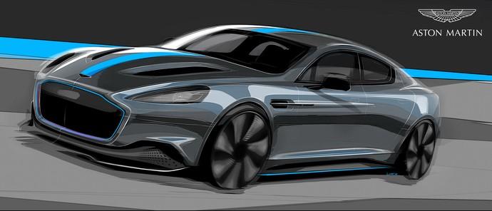 Mobil Listrik Pertama Aston Martin