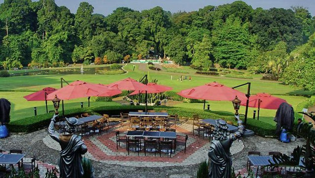 Ini Kafe Berpanorama Kebun Raya Bogor yang Disinggahi Obama