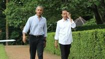 Satu Jam Bersama Jokowi, Obama Tinggalkan Istana Bogor