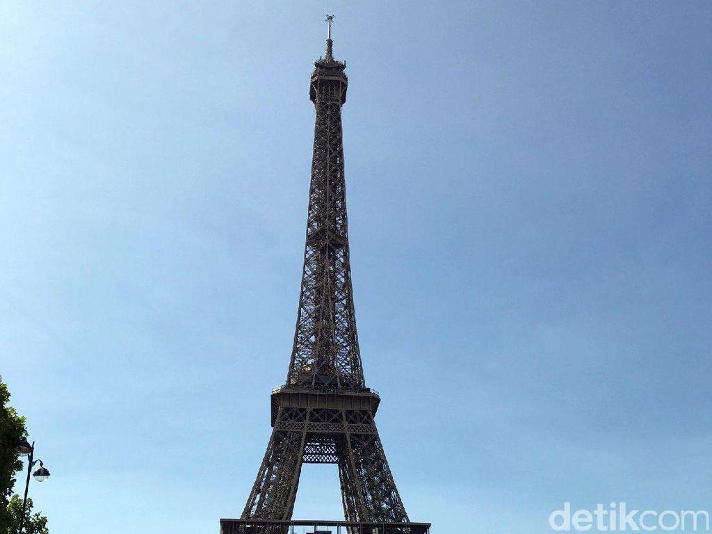 Foto: Menara Eiffel di Paris (Ahmad Toriq/detikTravel)