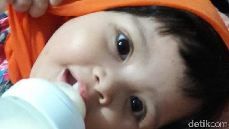 Ilustrasi anak minum susu (Foto: dok.HaiBunda)