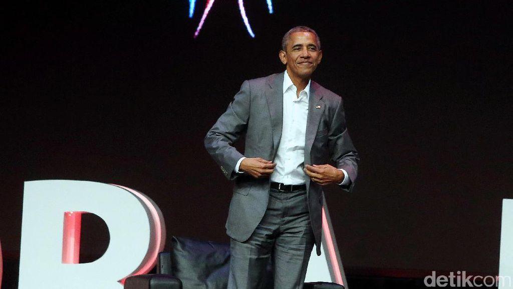 Obama: Presiden Jangan Sembarangan Gunakan Medsos