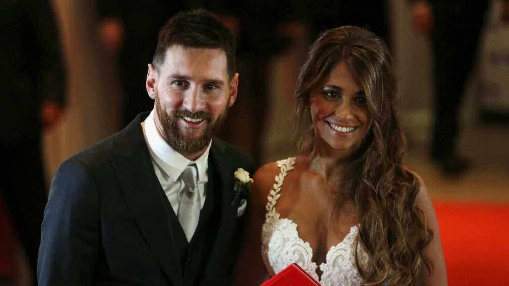 Bintang-Bintang Dunia Sepakbola Ramaikan Pernikahan Lionel Messi