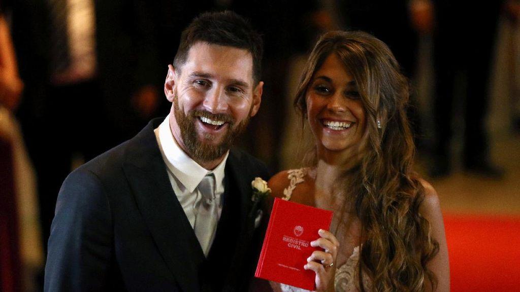Mengintip Keriuhan Pernikahan Lionel Messi