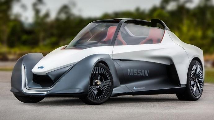 Mobil Listrik Ini Bernama Nissan BladeGlider