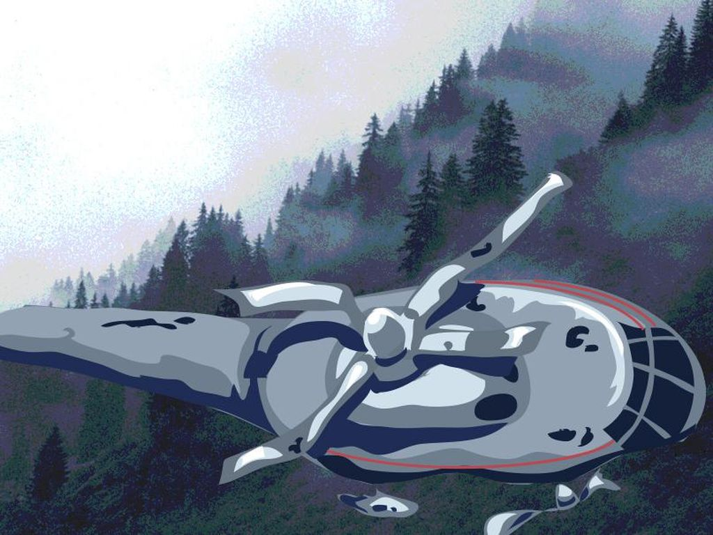 Helikopter Jatuh di Morowali Sulteng