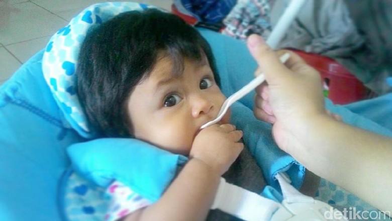 MPASI pertama untuk si kecil/ Foto: dok.HaiBunda