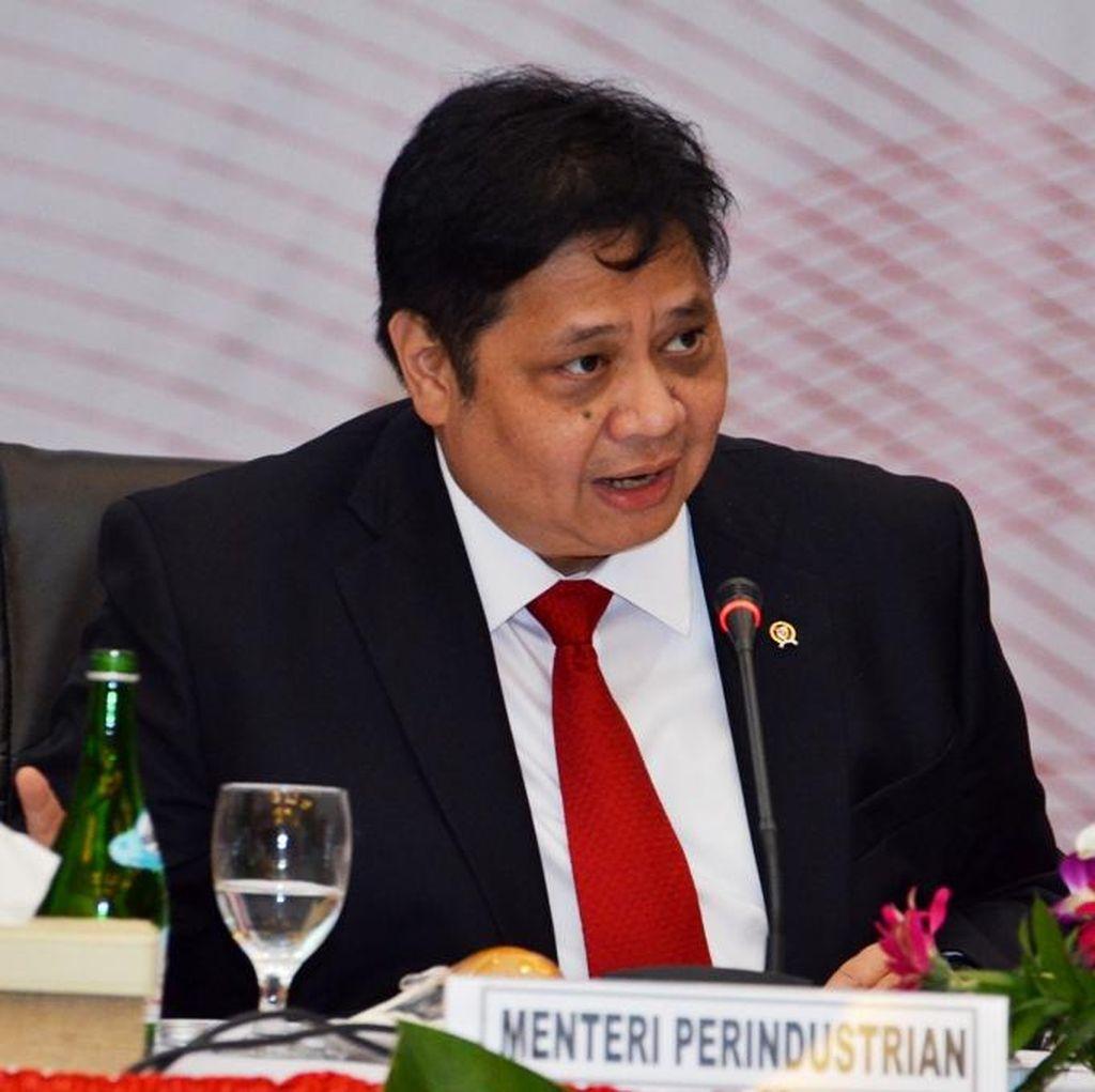 Saat Luhut dan Airlangga Menghadap Jokowi di Istana