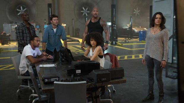 Adegan film 'The Fate of the Furious'