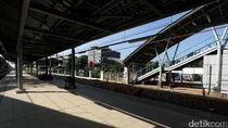 Stasiun KA Bekasi Timur Hampir Rampung