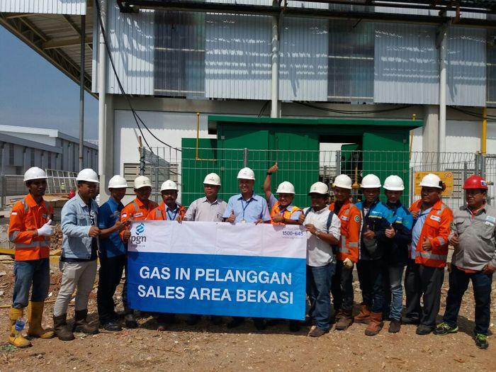 PT Fajar Surya Tridasa, salah satu produsen kertas terkemuka di Indonesia/Foto: Dok PGN