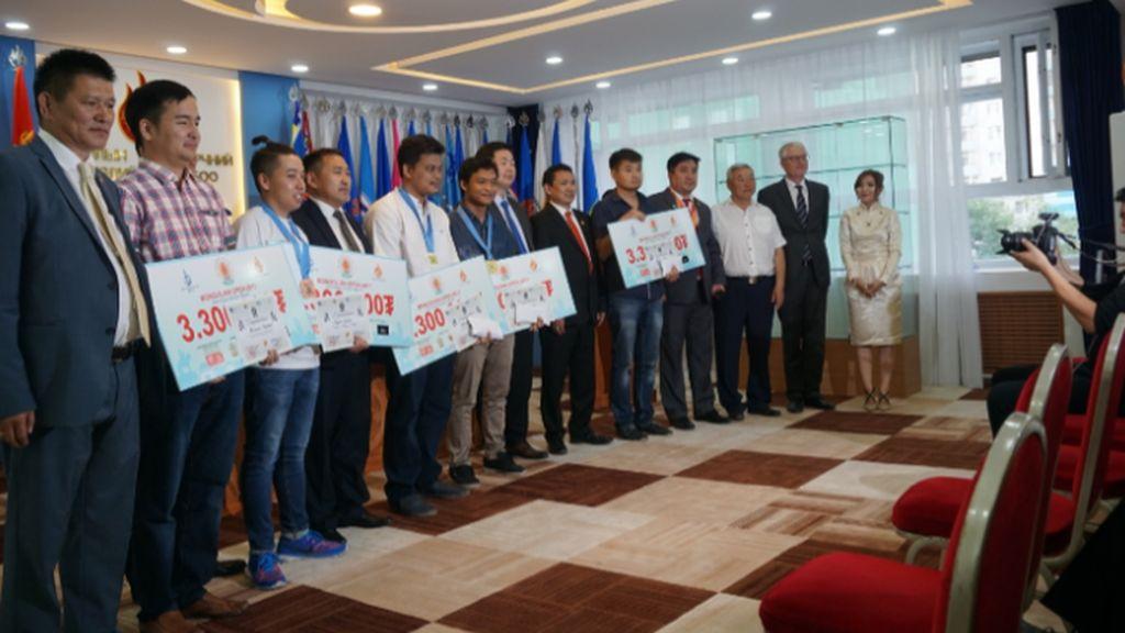 Mahasiswa Gunadarma Kembali Jawara di Mongolia