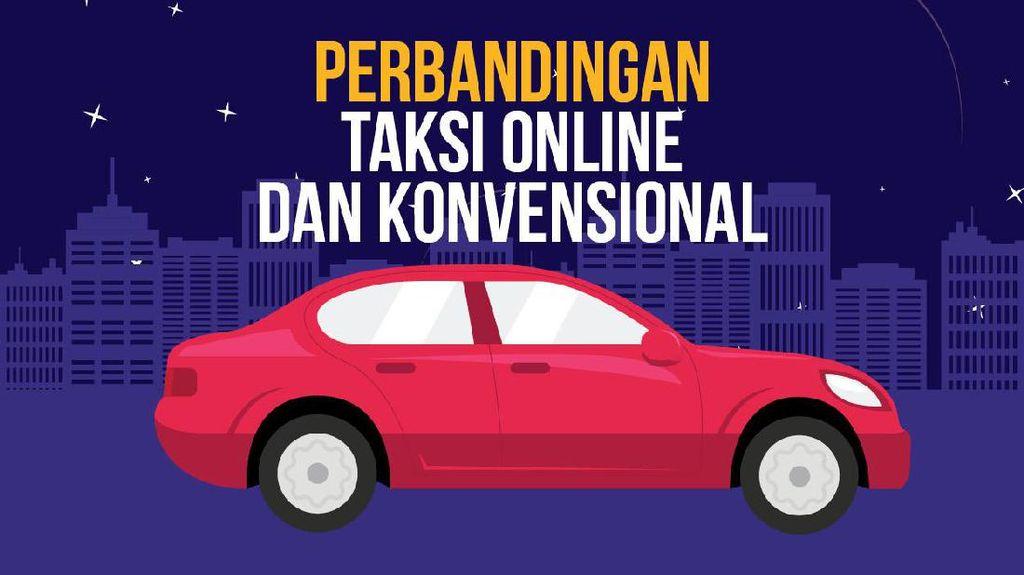 Perbandingan Taksi Online dan Konvensional