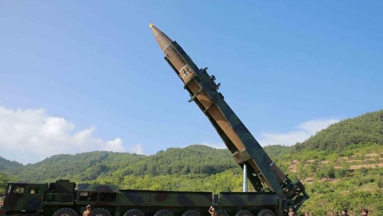 AS, Korsel dan Jepang Mulai Latihan Lacak Rudal-rudal dari Korut