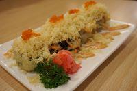 Macau Roll sushi di Hanei Sushi.