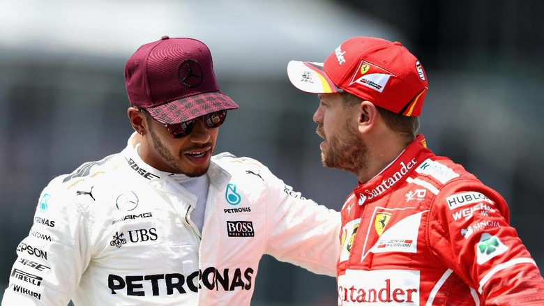Insiden Hamilton-Vettel Sudah Dianggap Kisah Lalu