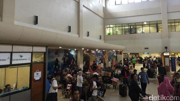 Bandara Internasional Minangkabau, Rabu (5/7/2017)