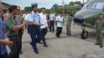 Satgas Karhutla Riau Terima Bantuan Pesawat Cassa untuk Hujan Buatan