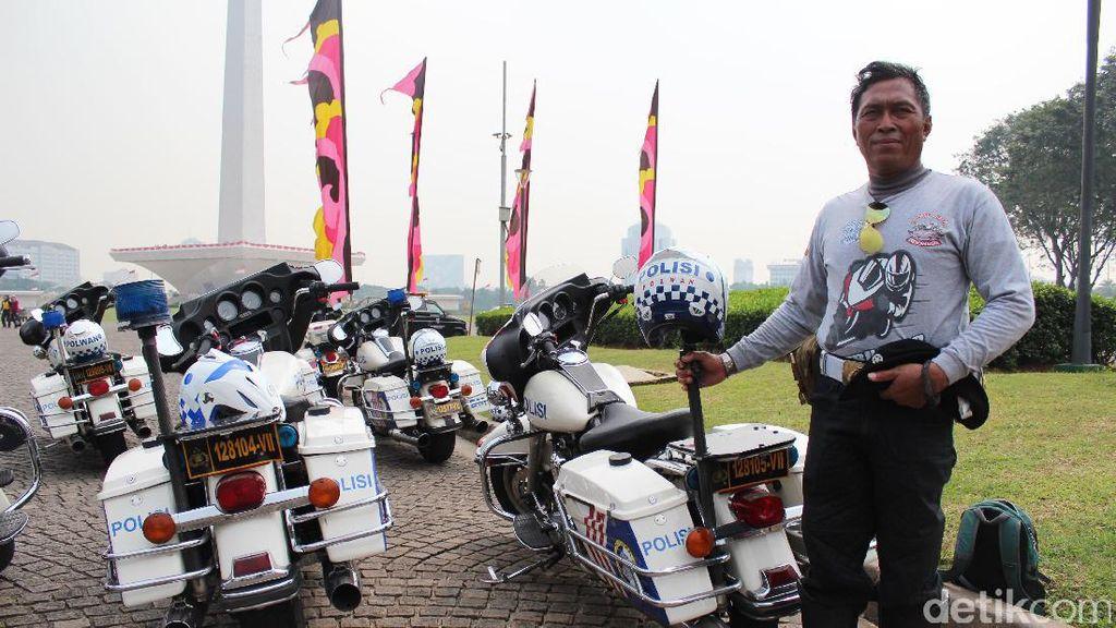 Kenalan dengan Polisi yang Beratraksi dengan Moge di Jalan Tol Saat Mudik