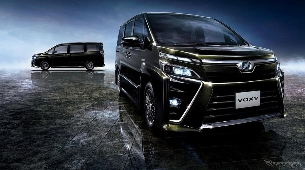 Toyota Siapkan 3 Produk Baru, MPV Voxy Salah Satunya