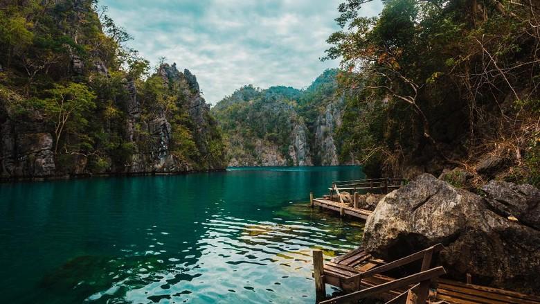 Foto: Danau Kayangan di Filipina (Thinkstock)