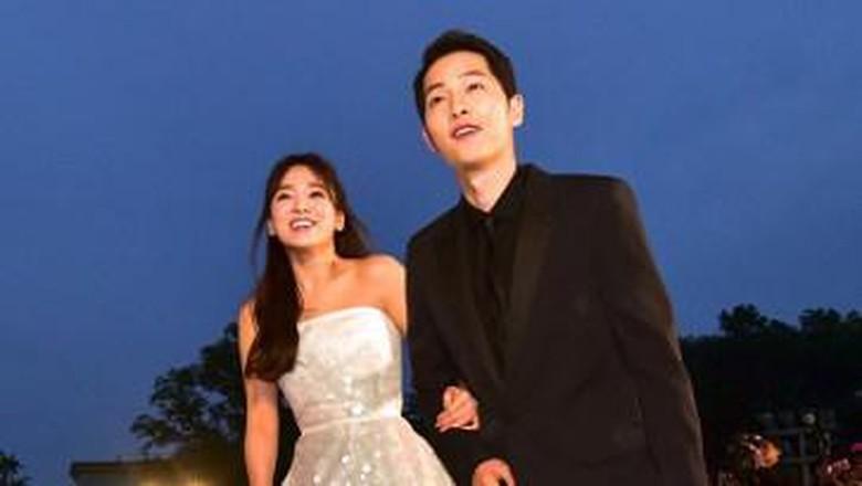 Intip Foto Persiapan Pernikahan Song Joong Ki dan Song Hye Kyo