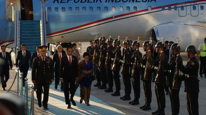 Jokowi Tanggung Biaya Perjalanan Keluarga yang Ikut ke Turki-Jerman