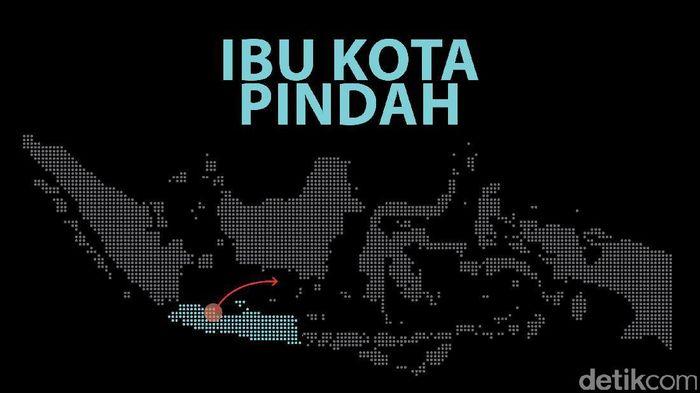 Ibu Kota Pindah (Foto Ilustrasi: Zaki Alfarabi)