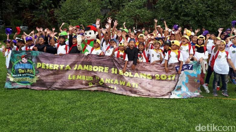 Foto: Jambore Si Bolang Trans7 Digelar di Bogor (Kurnia/detikTravel)