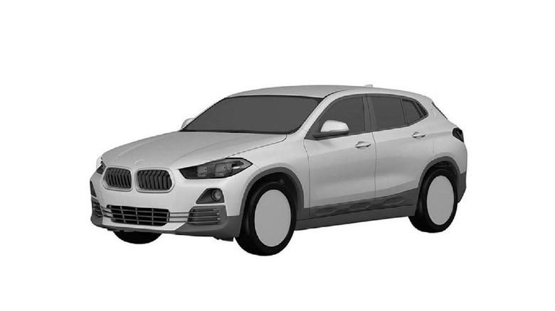 Desain Paten BMW X2 Diajukan di Jepang
