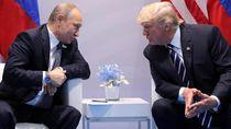 Momen Kebersamaan Trump dan Putin yang Kini Kaku