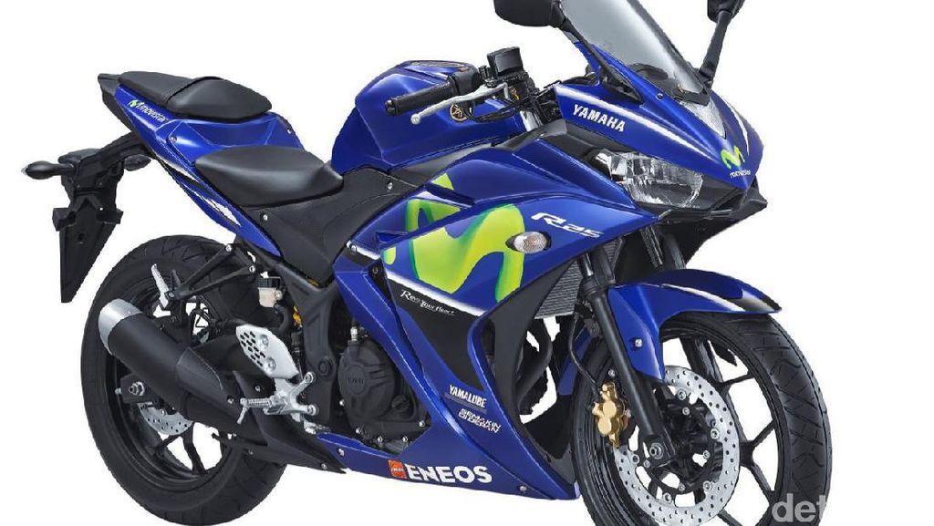 Yamaha Rilis 5 Motor ala Pebalap Valentino Rossi dan Vinales