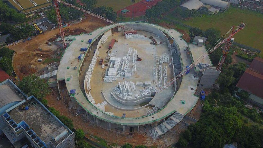 Mengintip Progres Proyek Velodrome DKI Rp 665 Miliar