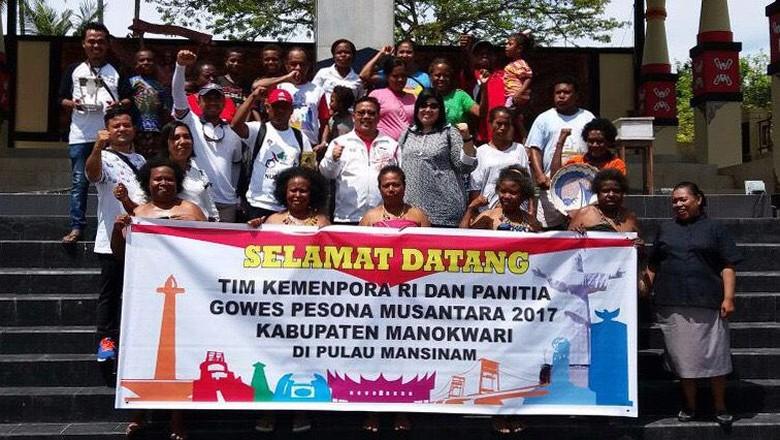 Manokwari Gelar Gowes Pesona Nusantara Akhir Pekan Ini