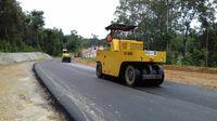 Pekerjaan Jalan Akses menuju PLBN Entikong