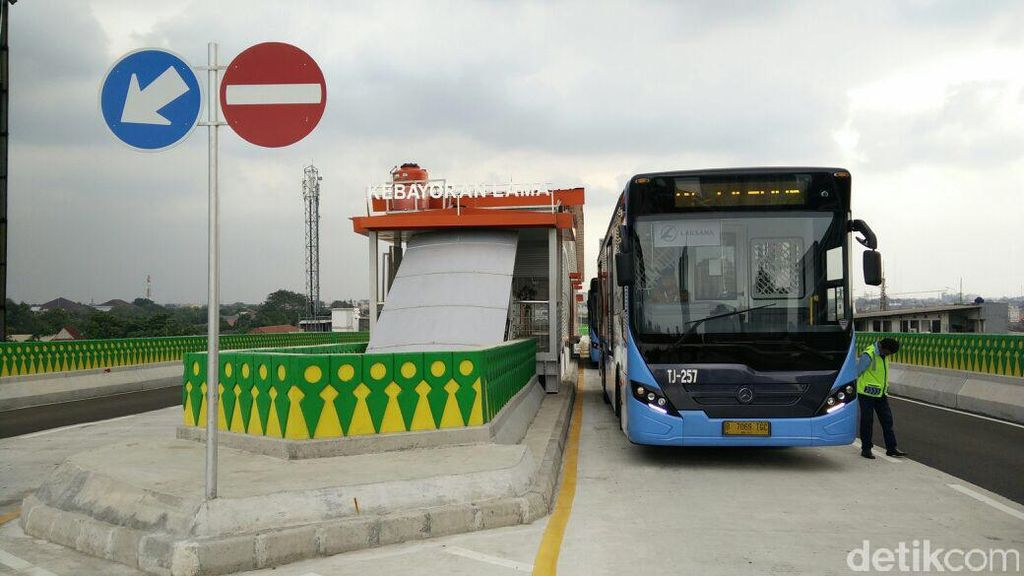 Mulai 13 Agustus 2017, Warga Ciledug Bisa Jajal Busway Layang