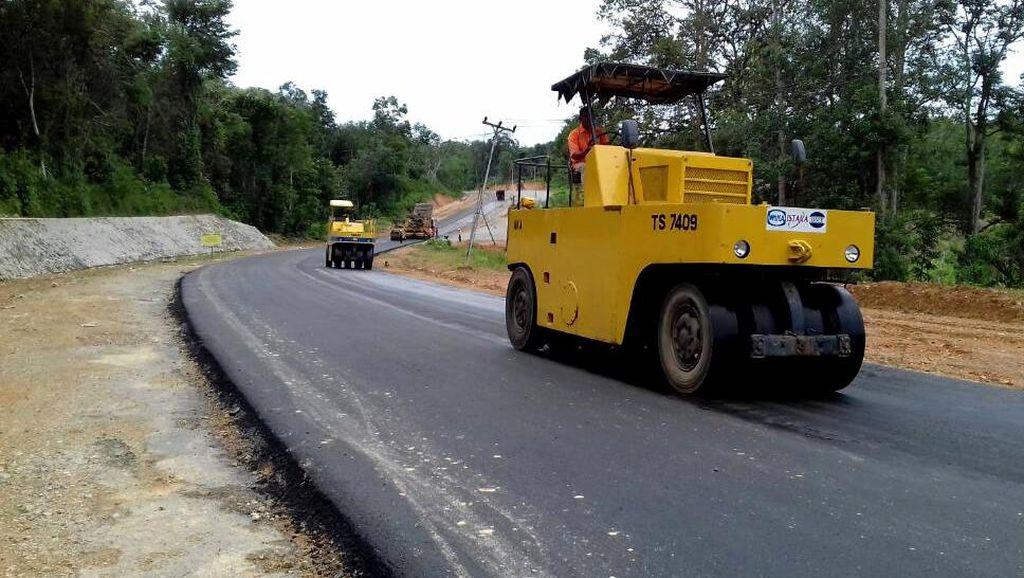 Jokowi Sudah Bangun 2.623 Km Jalan Dalam 3 Tahun